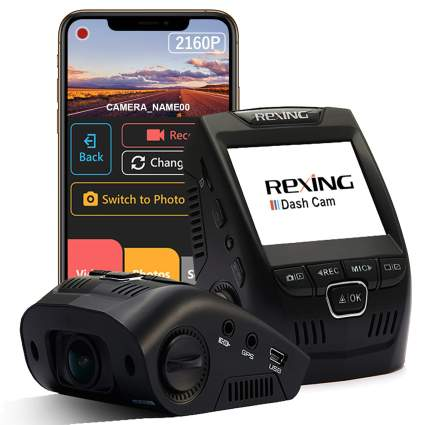 Rexing V1-4K Ultra HD Car Dash Cam