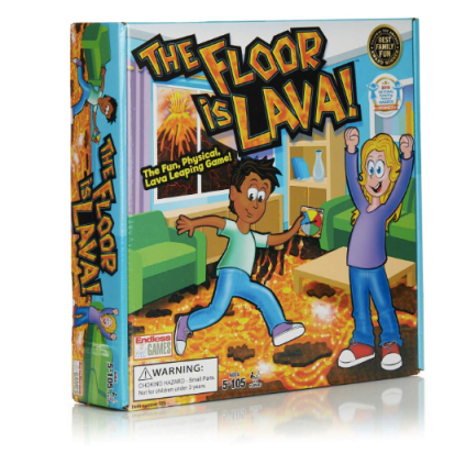 The Floor is Lava - Interactive Game for Kids