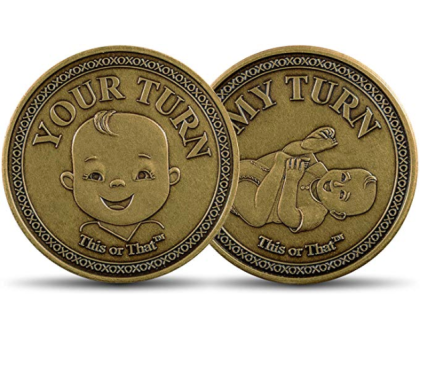 This or That Original Diaper Changing Coin