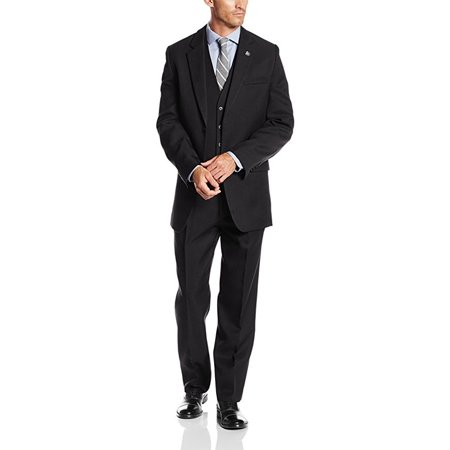 Newdeve Mens Casual Suits Regular Fit 3 Pieces