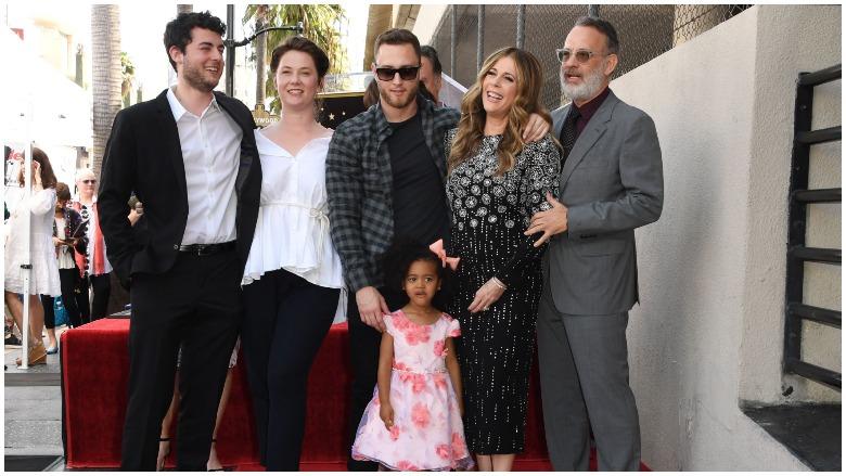 Tom Hanks Kids Family