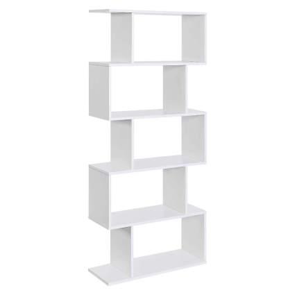 5-Tier Wooden Bookcase