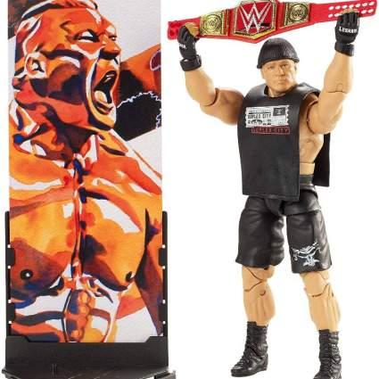 Elite Brock Lesnar Figure