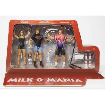 WWE Milk-o-mania Playset