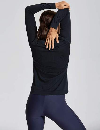 CRZ YOGA Seamless Long Sleeves Lululemon Dupe