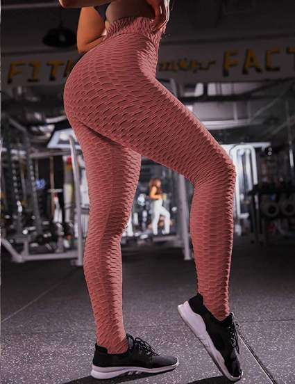 Women's Ruched Scrunch Butt Lifting Leggings
