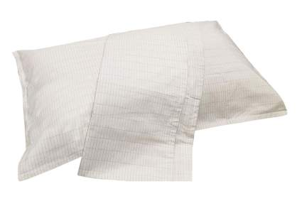 White pillow with pillowcase