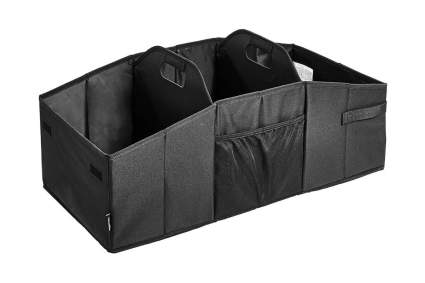 AmazonBasics Collapsible Multi-Compartment Car Trunk Organizer