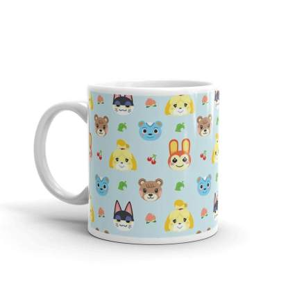Animal Crossing Ceramic Coffee Mug