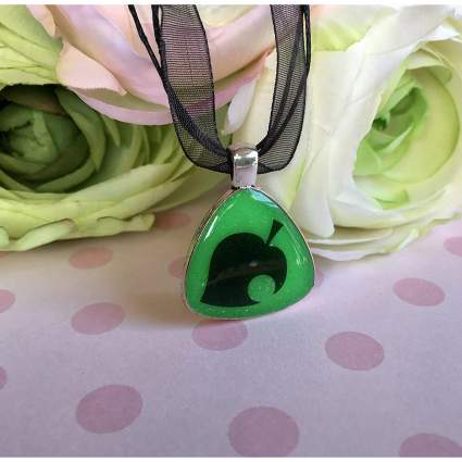 Animal Crossing Glow in the Dark Pendant Necklace