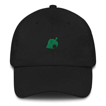 Animal Crossing Leaf Logo Hat