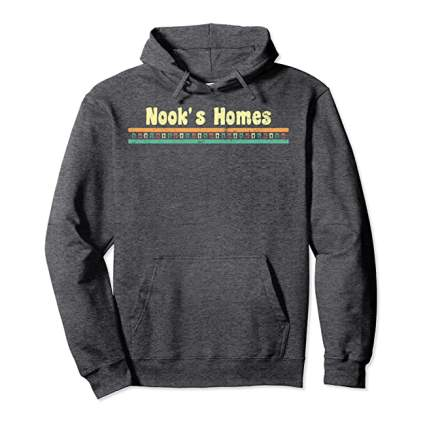 Animal Crossing Nook Homes Hoodies