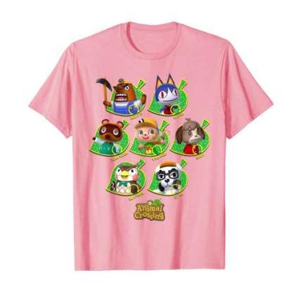 Animal Crossing Towns People Graphic T-Shirt