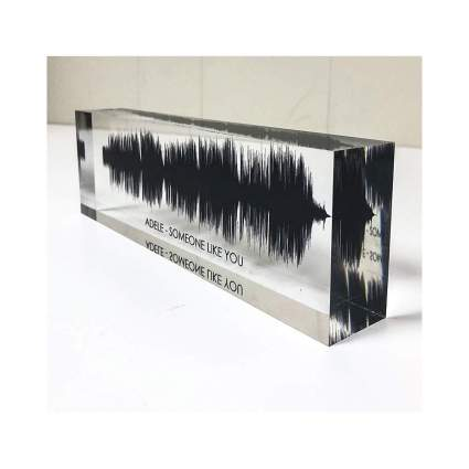 Artblox Soundwave Custom Acrylic Blocks