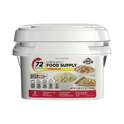 Augason Farms 72-Hour 1-Person Emergency Food Supply Kit