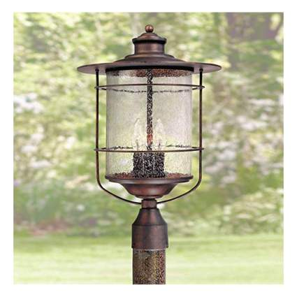 bronze farmhouse post light