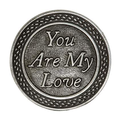 Cathedral Art You are My Love Pocket Token