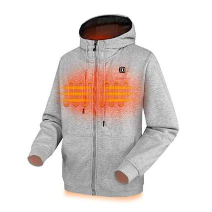CLIMIX Lightweight Heated Hoodie with Battery