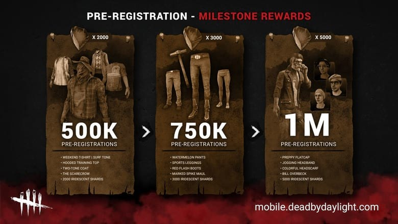 dead by daylight mobile free cosmetics