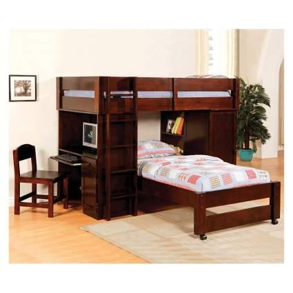 double twin loft bed