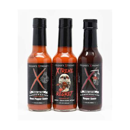 Elijah's Xtreme World's Hottest Hot Sauce Trio