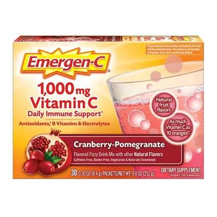 emergen-c immunity booster supplement