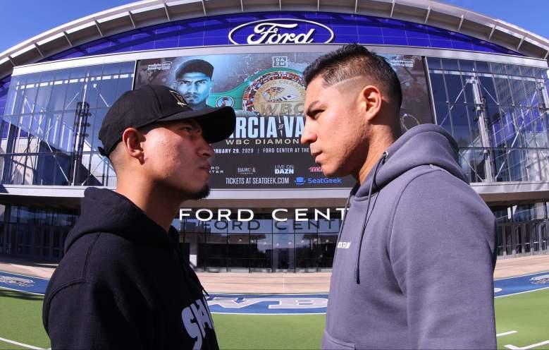 Mikey Garcia vs. Jessie Vargas