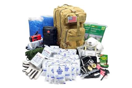 EVERLIT Earthquake 72-Hour 2-Person Emergency Survival Kit