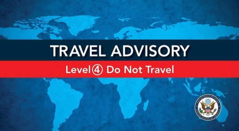 U.S. Travel Alert to China