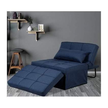 folding ottoman sleeper bed