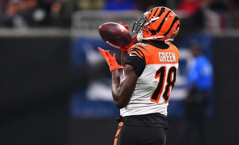 Wide receiver AJ Green