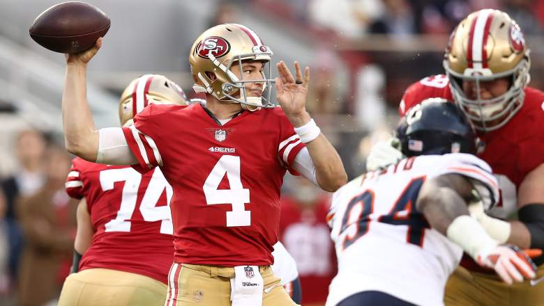 San Francisco 49ers QB Nick Mullens