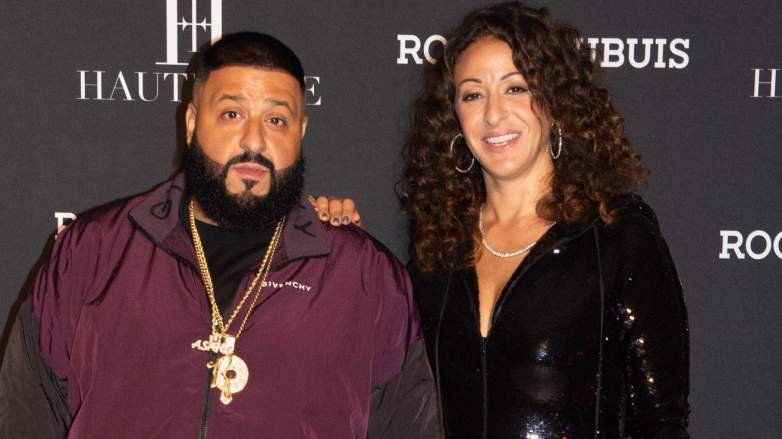 DJ Khaled and wife Nicole Tuck