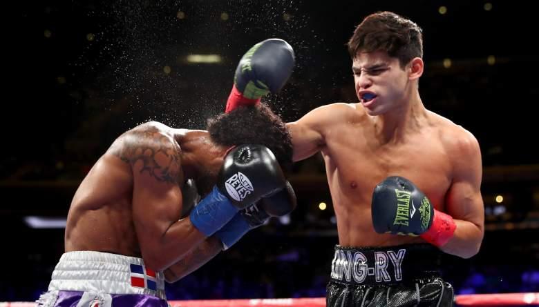 Boxer Ryan Garcia