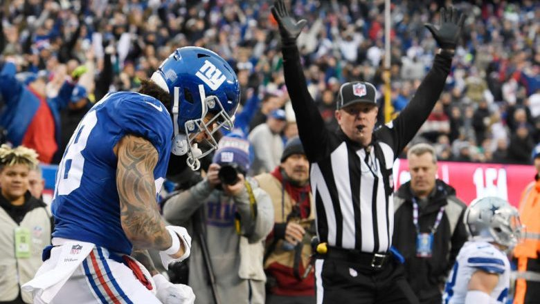 Evan Engram healthy for camp, has lots to prove