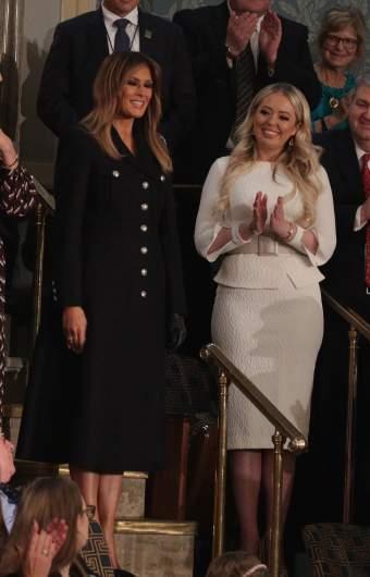 Tiffany Trump and First Lady Melania Trump