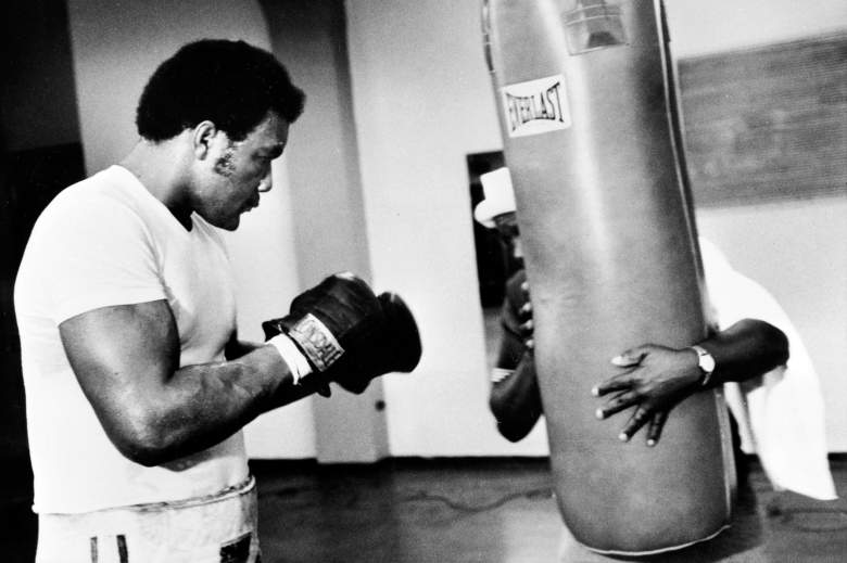 Boxer George Foreman in 1974.