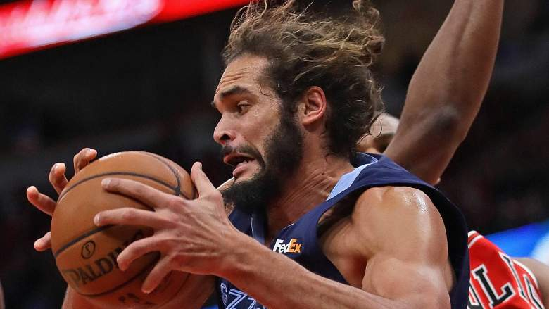 Joakim Noah, former Grizzly