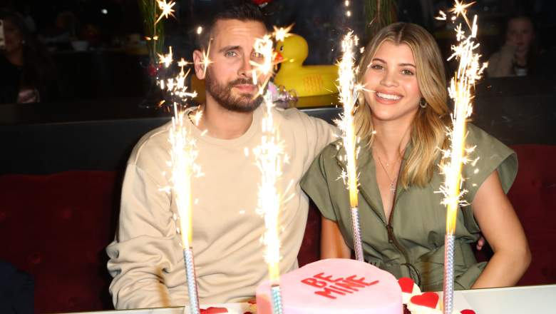 Scott Disick and Sofia Richie enjoy dinner for two