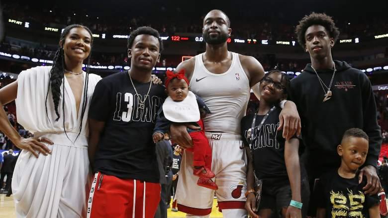 Dwyane Wade Family