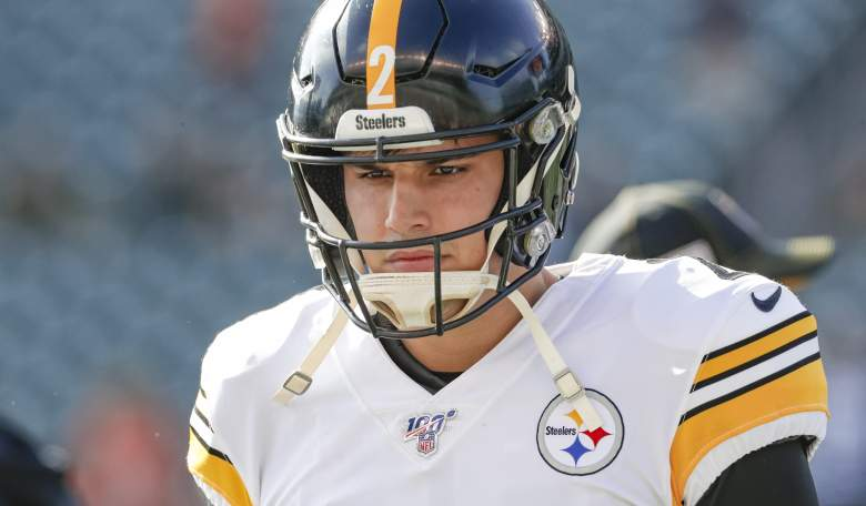 Pittsburgh Steelers QB Mason Rudolph