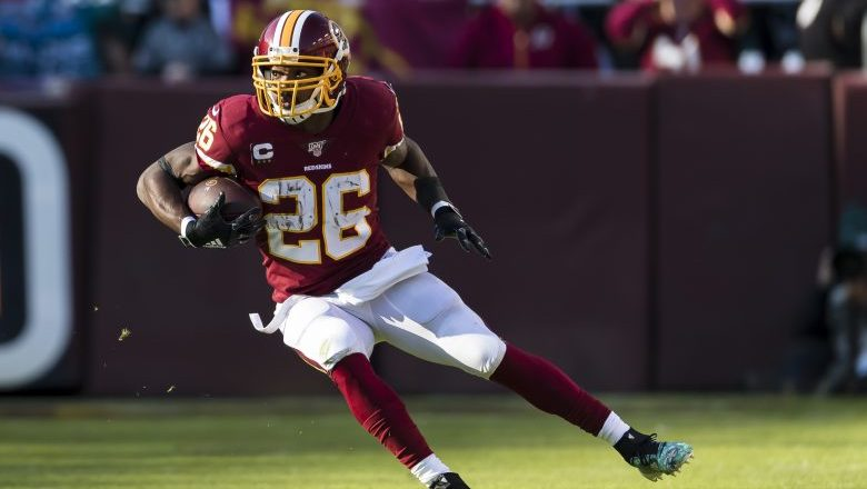 Washington Redskins pick up Adrian Peterson's 2020 contract option