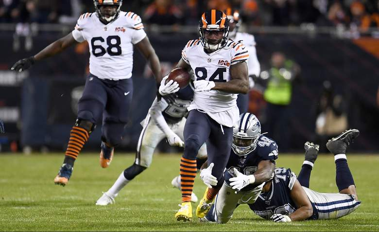 Chicago Bears WR Cordarrelle Patterson