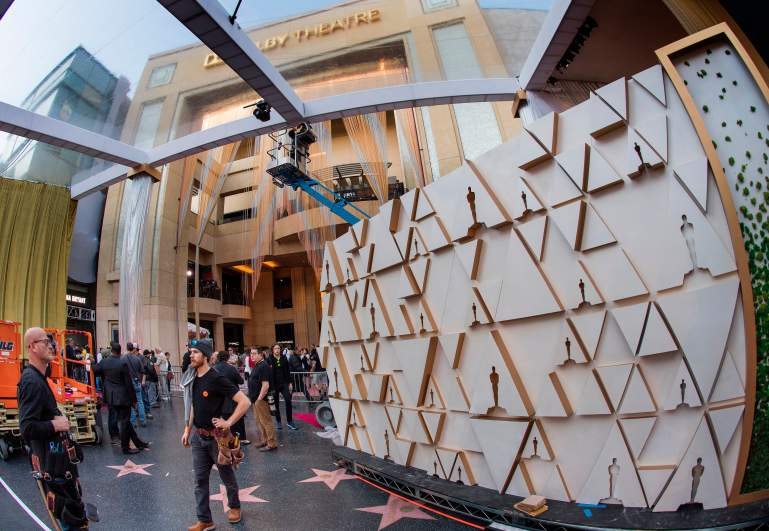Preparation for the 92nd Academy Awards
