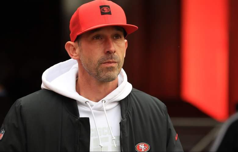 San Francisco 49ers head coach Kyle Shanahan