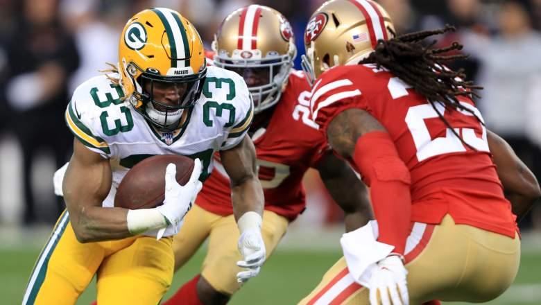 Aaron Jones Contract Talks Packers