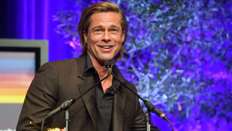 Brad Pitt Oscar Acceptance