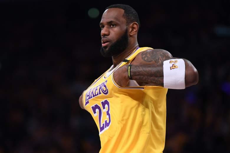 Lakers vs Rockets watch