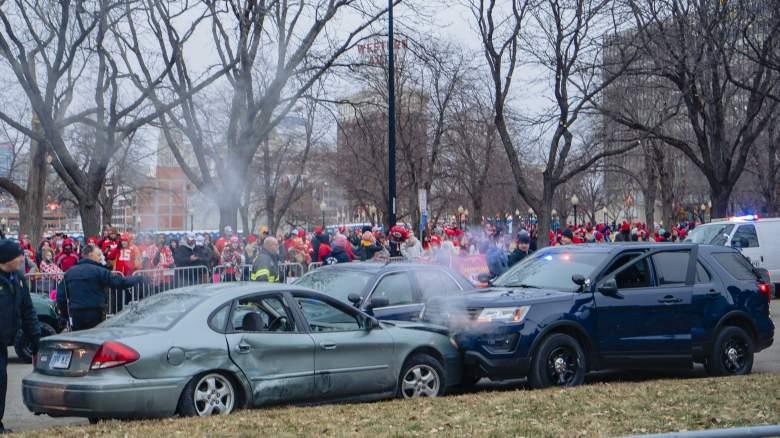 Chiefs Parade Crash Video