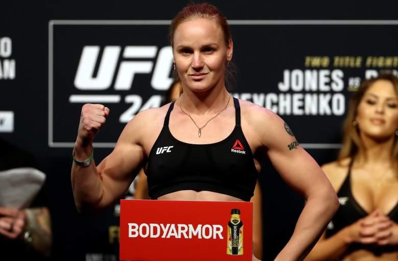 UFC's Valentina Shevchenko